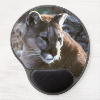Cougar head gel mouse pad