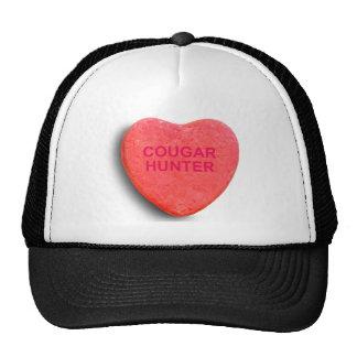 COUGAR HUNTER CANDY HEART TRUCKER HAT