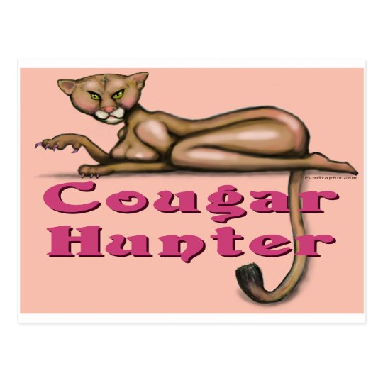 Cougar Hunter Postcard