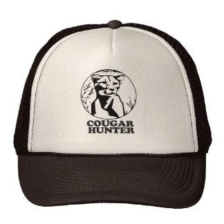 COUGAR HUNTER T-shirt Trucker Hat