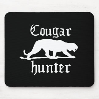 COUGAR HUNTER T-shirt Mouse Pad