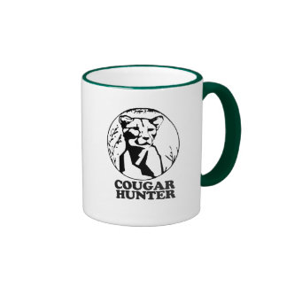 COUGAR HUNTER T-shirt Coffee Mug