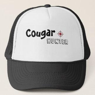 cougar hunter trucker cap