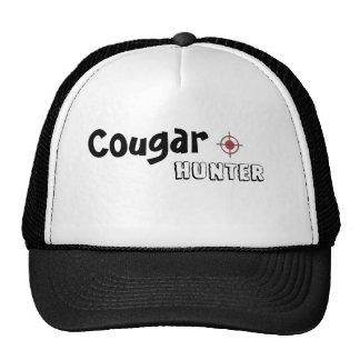 cougar hunter trucker cap trucker hat