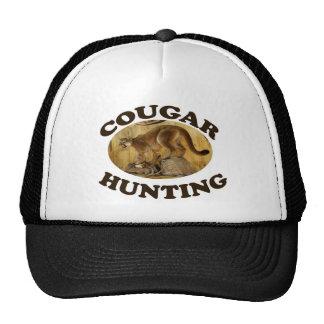 Cougar  Hunting Trucker Hat