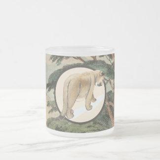 Cougar In Natural Habitat Illustration Mug