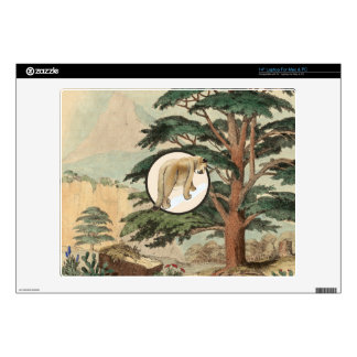 "Cougar In Natural Habitat Illustration Skin For 14"" Laptop"