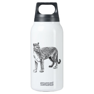 Cougar Insulated Water Bottle