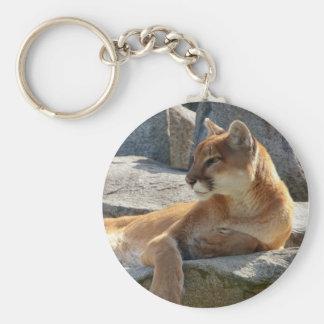 Cougar Key Chain