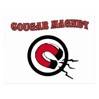 Cougar Magnet Postcard