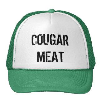 COUGAR MEAT TRUCKER HAT