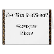 Cougar Mom Card