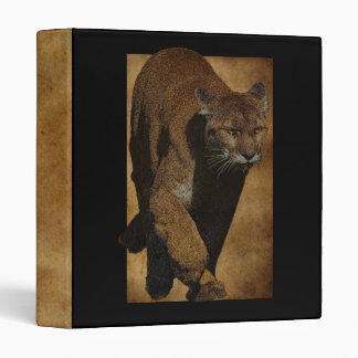 Cougar Mountain Lion Artwork Photo Album Binder