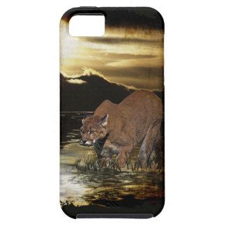 Cougar Mountain Lion Arty iPhone 5 Case