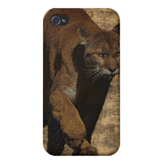 Cougar Mountain Lion Arty iPhone Case