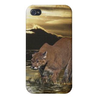 Cougar Mountain Lion Arty iPhone Case