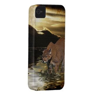 Cougar Mountain Lion Arty Phone Case
