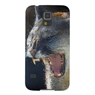 Cougar Mountain Lion Big Cat Art Case