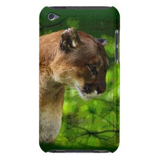 Cougar Mountain Lion Big Cat Art iPod Touch Case-Mate Case