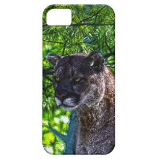 Cougar Mountain Lion Big Cat Art Design 6 iPhone 5 Cases