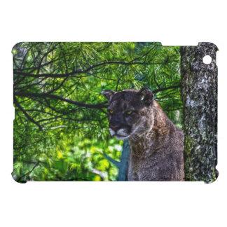 Cougar Mountain Lion Big Cat Art Design 6 iPad Mini Cover