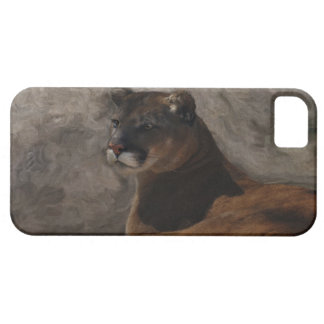 Cougar Mountain Lion Big Cat Art Design iPhone 5 Cases