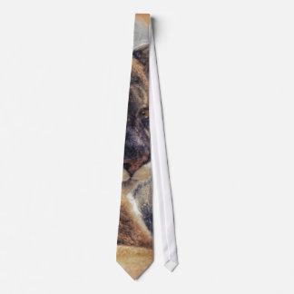 Cougar Mountain Lion Big Cat Painting 2 Tie