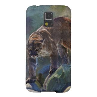 Cougar Mountain Lion Big Cat Painting 5 Galaxy Nexus Cases