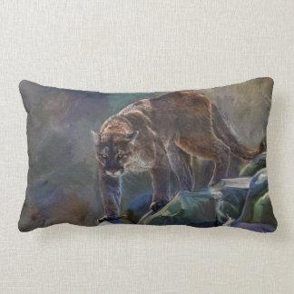 Cougar Mountain Lion Big Cat Painting 5 Pillows