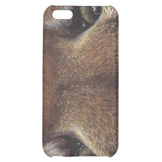 Cougar Mountain Lion Eye wildlife cat painting art iPhone 5C Case