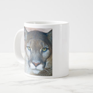 Cougar, mountain lion, Florida panther, Puma Giant Coffee Mug