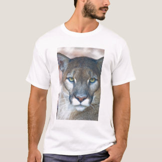 Cougar, mountain lion, Florida panther, Puma T-Shirt