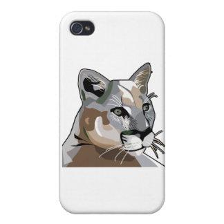 Cougar,Mountain Lion,Puma iPhone 4 Cases