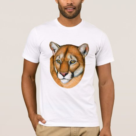 Cougar Mountain Lion Puma T-Shirt