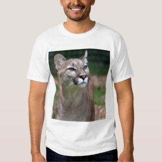Cougar, mountain lion tee shirt, t-shirt