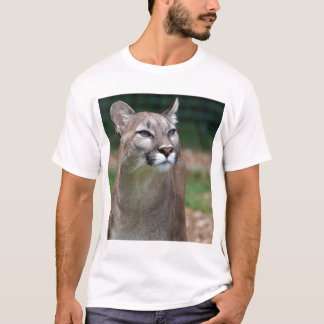 Cougar, mountain lion tee shirt, t-shirt