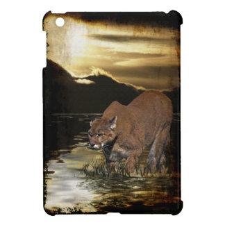 Cougar, Mountain Lion, Wildlife, Animal Art iPad Mini Case