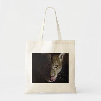 Cougar Night Budget Tote Bag