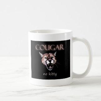 Cougar, no kitty! coffee mug