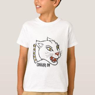 COUGAR ON - PRINT by jill T-Shirt