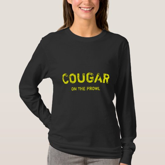 COUGAR , ON THE PROWL T-Shirt