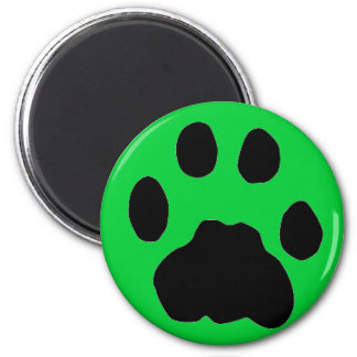 COUGAR PAW PRINT MAGNETS