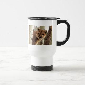 Cougar Photograph 15 Oz Stainless Steel Travel Mug