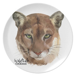 """""""Cougar"""" Plate"""