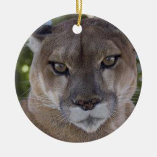 Cougar Pounce Ornament