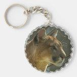 Cougar Puma Keychain