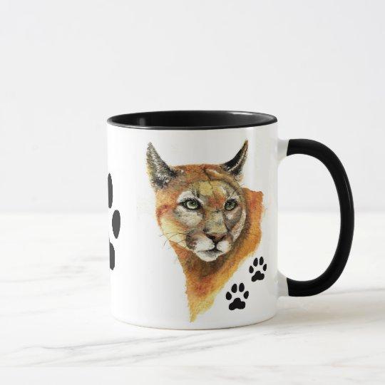 Cougar, Puma, Mountain Lion AnimalAnimal Mug