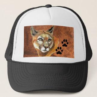 Cougar, Puma, Mountain Lion,Tracks Baseball Cap