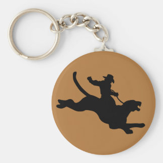 Cougar Rodeo Keychain