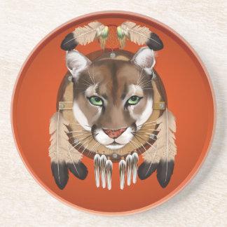 Cougar Shield Coasters